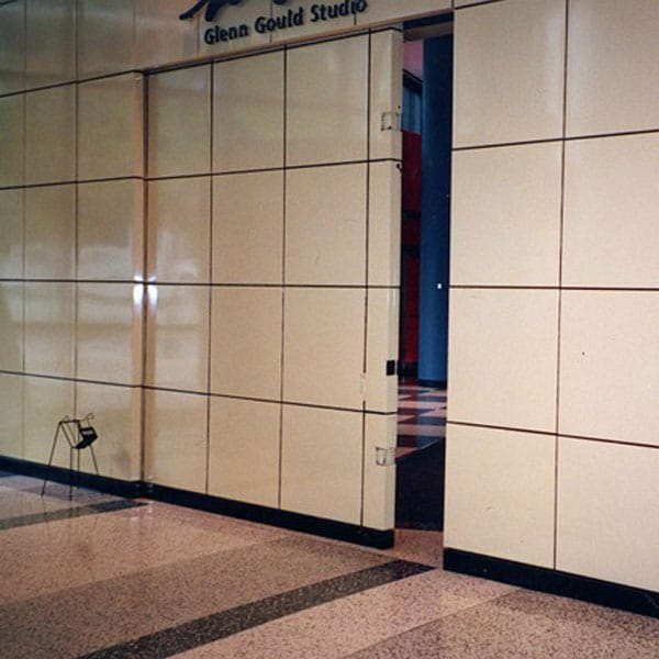 Acoustic Steel Sliding Door & Frame