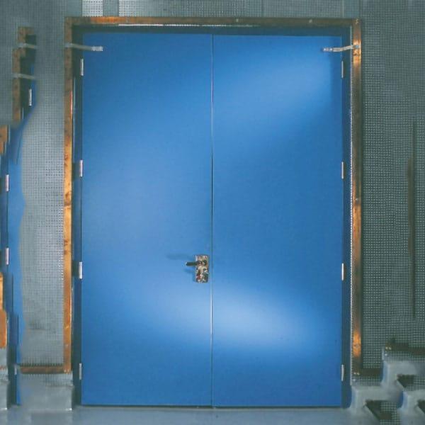 Bullet Resistant Steel Door & Frame