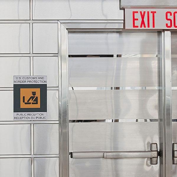 Stainless Steel Door & Frame