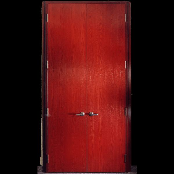 Acoustic Wood Doors & Steel Frame